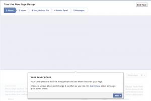 Facebook Fanpage Timeline Step 1