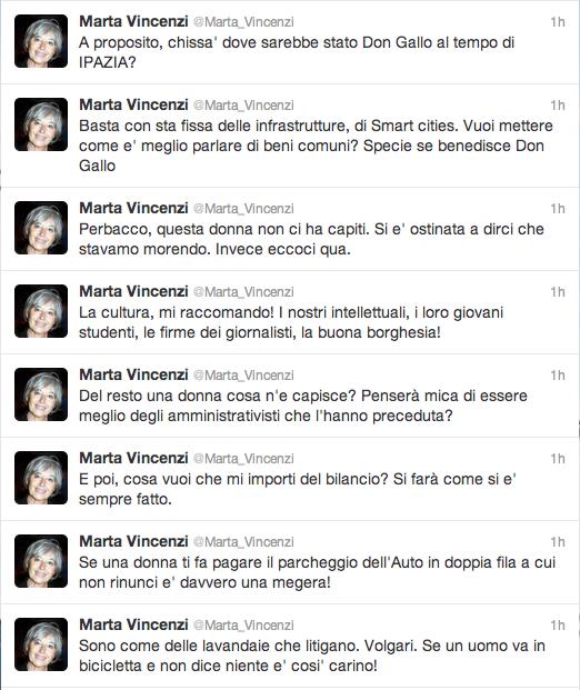 Timeline Marta Vincenzi @marta_vincenzi