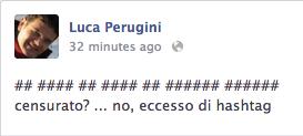 hashtag Facebook: eccessi
